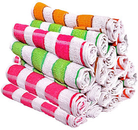 Pack Of 6 Hand Towel 9x15 Inch Striped