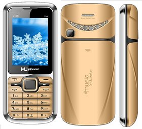 MU PHONE M1000+  DUAL SIM , 2.4 INCH DISPLAY WITH VIBRATION, 1700mAh BATTERY, AUTO CALL RECORDING