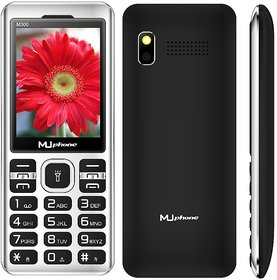 MU PHONE M300  TRIPLE  SIM , 2.4 INCH DISPLAY WITH VIBRATION, 1000mAh BATTERY, AUTO CALL RECORDING
