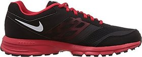 Nike Men's Black And Red Synthetic Running Shoes 685139