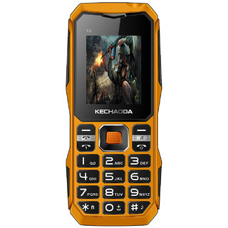 KECHAODA K6 DUAL SIM FEATURE PHONE, 1.8 INCH DISPLAY, VIBRATION, 1200mAh BATTERY, CAMERA, BLUETOOTH (BIS CERTIFIED)