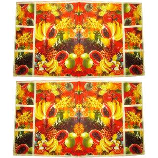 Floral Fridge cover - Set of 2