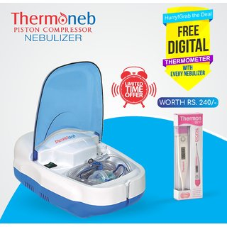 Thermoneb Piston Compressor Nebulizer with complete kit