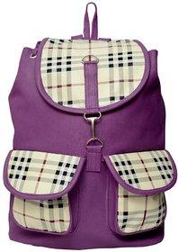 Varsha Fashion Accessories Women backpack bag 121 PURPLE