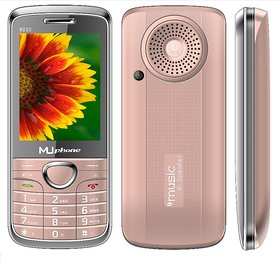 MU PHONE M230  DUAL SIM  , 2.8 INCH DISPLAY WITH VIBRATION, 1700mAh BATTERY, AUTO CALL RECORDING