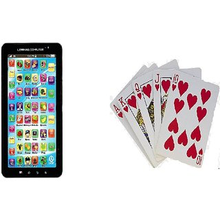Karnavati EXCLUSIVE p1000 kids EDUCATIONAL tablet + playing cards free