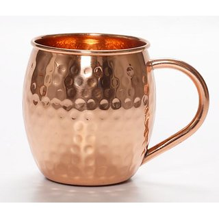 Comit Pure Copper Barrel  Mug  475 ml