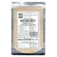 Multani Mitti (Fuller's Earth) for Face, Skin  Hair Packs - 100 Natural (200 gm / 7 oz / 0.44 lb)