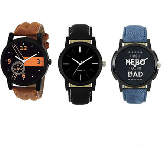 Buy Online Combo Offer Multicolored dial Analogue Watch For Boys And Mens - Watch