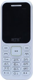 MTR MT 310 DUAL SIM MOBILE PHONE IN WHITE COLOR