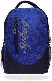 Sybag Royal blue  Black backpack Bag