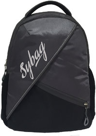 Sybag Black  Gray backpack Bag
