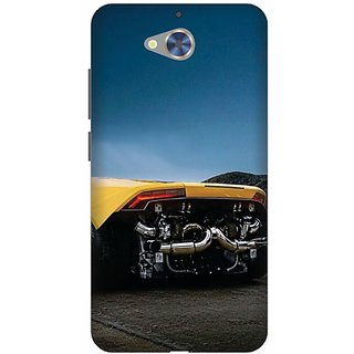 Printland Back Cover For Gionee S6 Pro