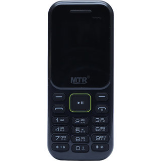 MTR MT 310 DUAL SIM MOBILE PHONE IN BLACK COLOR