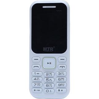 MTR MT 310 DUAL SIM MOBILE PHONE IN WHITE COLOR