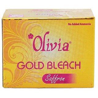 Olivia Gold Bleach (Saffron) 30 g Each Combo Pack Of 5
