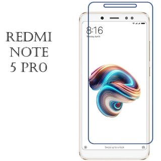 Redmi Note 5 Pro Tempered Glass Best Quality Curved Glass by NK