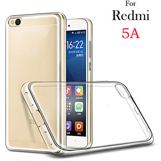 new styles 510e3 87aa4 Redmi 5A Soft Silicon High Quality Ultra-thin Transparent Back Cover BY NK