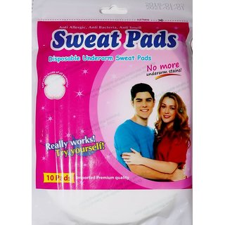 Sweat Pads Disposable Underarm Sweat Pads Combo (Pack Off 6)
