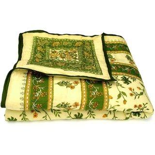 shoppingtara Jaipuri Single Bed Pure Cotton Quilt Rajai RAZAI SRM2001