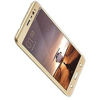 Buy BRAND FUSON 360 Degree Full Body Protection Front Back Case Cover (iPaky Style) with Tempered Glass for Oppo A37 (Gold) + USB LED Light Online - Get 58% ...