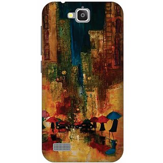 Printland Back Cover For Huawei Honor Holy