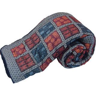 shoppingtara Jaipur Handblock Coton Double Bed Rajai Quilt -316