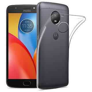 Moto E4+ Back Cover Case for Motorola Moto E4 Plus  (Transparent)