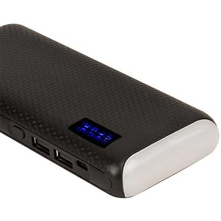 AMA TOP LIGHT WITH PERCENTAG 10000 MAH FAST CHARGING (black)