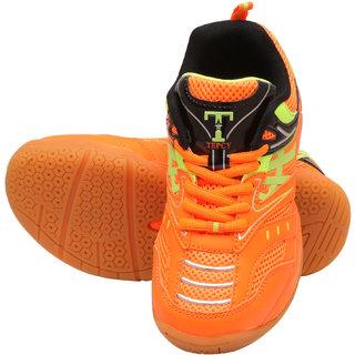 TEPCY Boys Girls Lace Badminton Shoes