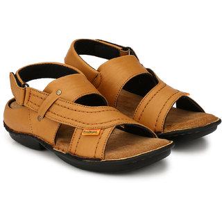Men's Nubuck Sandals Tan Leather Drake Valcro 8Pkn0wOX