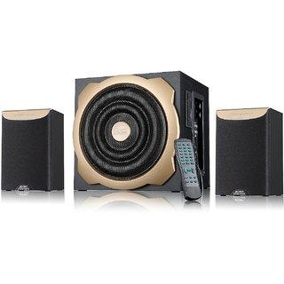 FD A520U Multimedia Speaker with Digital FM and USB/SD Reader