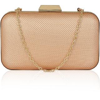 Kleio Subtle Elegant Party Box Sling Clutch for Women/ Girls