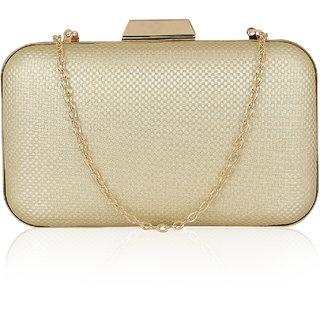 Kleio Subtle Elegant party Box Sling Clutch for Women / Girls