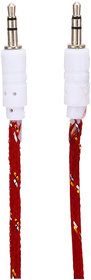 JPW Premium Red Aux To Aux High Quality Cable AUX Cable