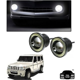 Trigcars Mahindra Bolero Car High Power Fog Light With Angel Eye