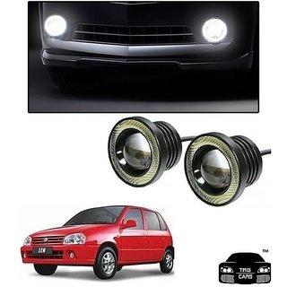 Trigcars Maruti Suzuki Zen Car High Power Fog Light With Angel Eye