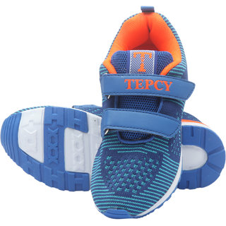 TEPCY Boys Strap Running Shoes