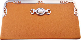 Wallet For Women, Tan And Wheatish
