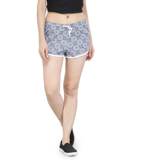 KOTTY Printed Women Multicolor Night Shorts