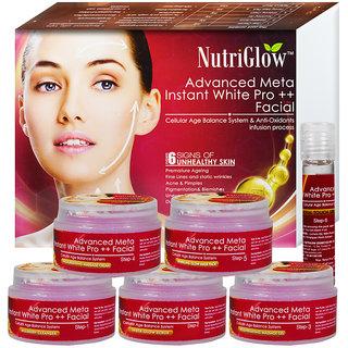 NutriGlow Advance Meta Instant White Pro Facial Kit 250g
