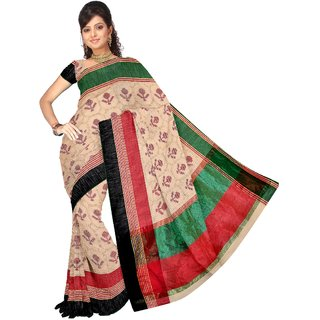 Vandana Fashion Designer Handloom Banarasi Soft Cotton Silk Saree