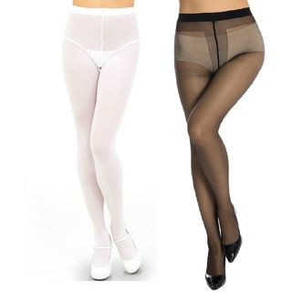 White pantyhose tights with you