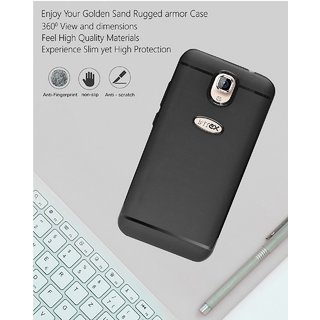 new arrival 6a989 33eaa ECellStreet 360 Degree Protection Slim Flexible Soft Back Case Cover For  Intex Aqua S3