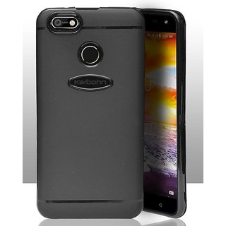 ECellStreet 360 Degree Protection Slim Flexible Soft Back Case Cover For Karbonn Titanium Jumbo 2