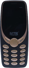 MTR MT3330 DUAL SIM MOBILE PHONE IN BLUE COLOR