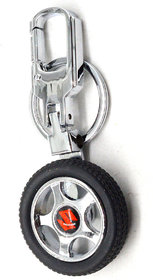 Faynci Premium Quality Suzuki Spinning Tyre Rotary Wheel Locking Metal Prestigious Suzuki lover Keychain