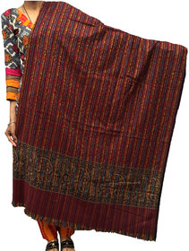 Pure Woolen Warm Women Shawl For Extreme Winters-Heavy Wool Instant Hot Exactly As Shown