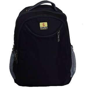 Skyline Laptop Backpack Bag Casual/Office Unisex Bag- S31 - Black