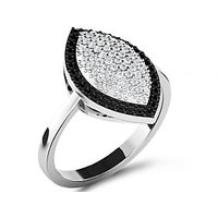 Sparkles 0.4ct Diamond Ring In 18 Kt Gold & Real Diamonds